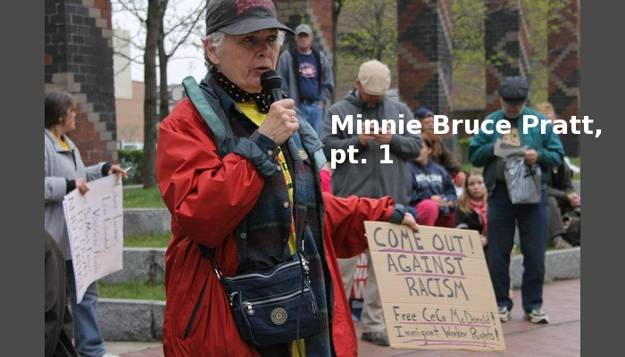 Minnie Bruce Pratt at May Day 2012 (image by Ashley Sauer)