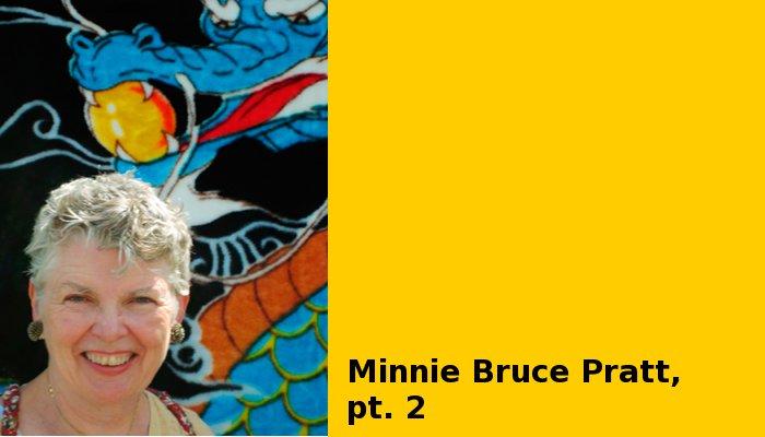 Minnie Bruce Pratt (image by Leslie Feinberg)