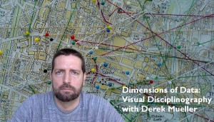 Derek explores networks of discourse made visual by mapping methods.