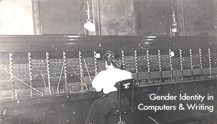 Telephone operator and switchboard, Kalamazoo, Michigan. RPPC, Postmarked 1908. Image Credit: Wystan.  http://bit.ly/1rojU6h